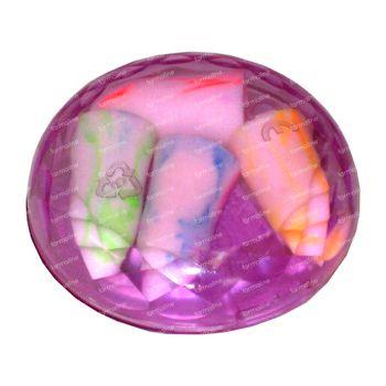 Chutt Pocket Bouchon Oreilles Synthétique Couleur 4 st