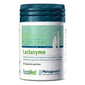 Lactazyme 45.6mg 60  capsules