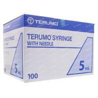 Terumo Wegwerpspuit Met Naald 5ml 21g 1 1/2 100 st