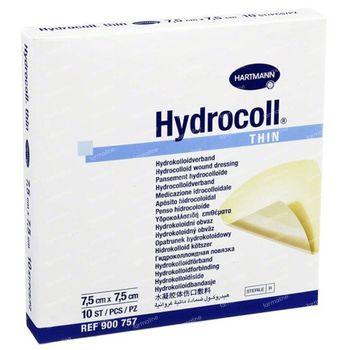 Hartmann Hydrocoll Thin 7,5x7,5cm 10 verband(en)