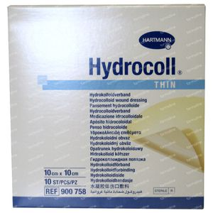 Hartmann Hydrocoll Thin 10 x 10cm 900758 10 stuks
