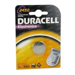 Duracell Battery dl2450 3v 36594 1 St