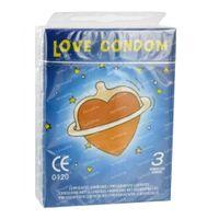 Love Condom Sensitive Preservatifs 3 st