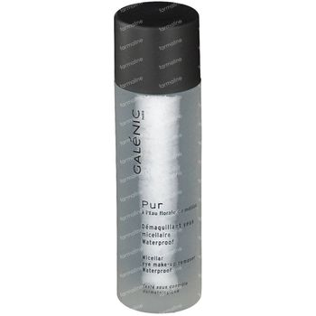 Galénic Pur Demaquillant Yeux Micellaire Waterproof 125 ml