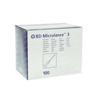 BD Microlance 3 Épingle 21G 1 1/2 RB 0.8x40 mm Vert 100 pièces