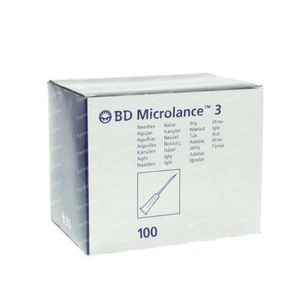 BD Microlance 3 Needle 21G 1 1/2 RB 0.8x40 mm Green 100 pezzi