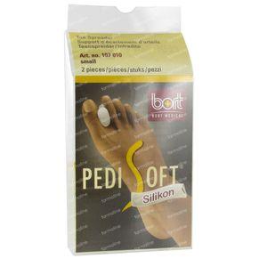 Bort Pedisoft Toe Spreader Silicone Small 2 St
