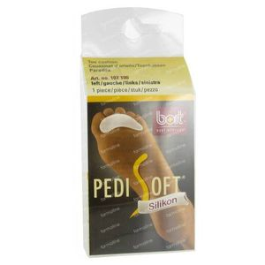 Bort Pedisoft Toe Pillow Silicone Left 1 pezzo