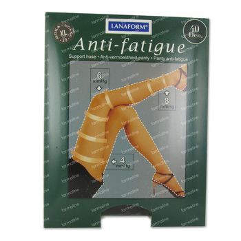 Lanaform Collants A/Fatigue 40d Moka Xl 1 pièce