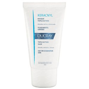 Ducray Keracnyl Triple-Action Mask 40 ml