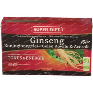 Super Diet Ginseng-Royal Jelly Bio 300 ml ampoules