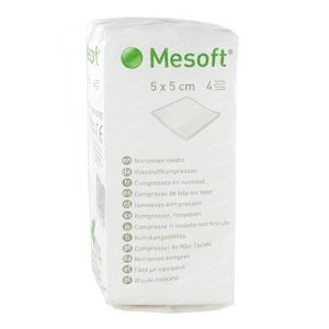 Mesoft S Compress Non-Sterile 4 Layers 5x5cm 100 pieces