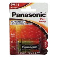 Panasonic Batterij Glr 6 9V 1 st