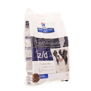 Hills Canine Dog Ultra Allergen-Free Prescription Diet  z/d 8887m 3 kg