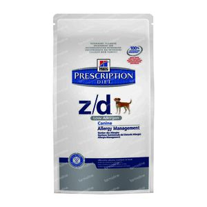 Hills Prescription Diet Canine Low Allergen Z/D 7,50 kg
