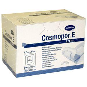Hartmann Cosmopor E Steriel Verband 7.2 x 5cm 900870 50 stuks