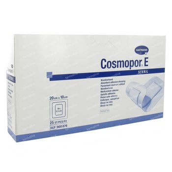 Hartmann Cosmopor E Pansement Stérile 20 x 10cm 900876 25 pièces