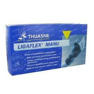 Thuasne Ligaflex Manu Poignet Droit NoirT1 1 pièce