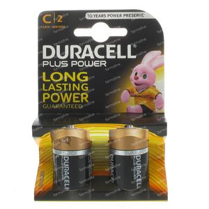 Duracell Battery lr14/mn1400 10602 2 pieces