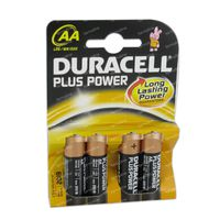 Image of Duracell Battery lr6/mn1500 10601 4 pieces