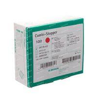 Combistop Afsluitdop Rood 100 st