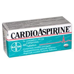 CardioAspirine 100mg 60 comprimés