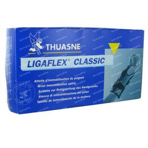 Thuasne Ligaflex Klassiek Pols Links Zwart Maat 4 1 stuk