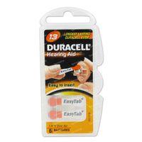Duracell Easy Tab Hoorbatterij Da13 Oranje 6 st