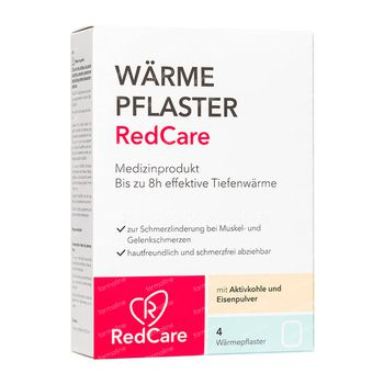 RedCare Warmtepleister 4 stuks