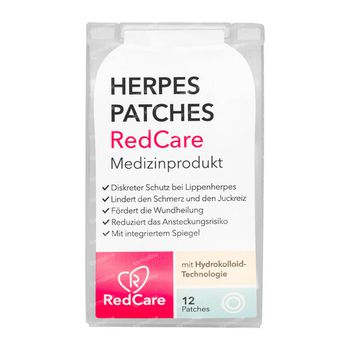 RedCare Herpes Patches 12 stuks