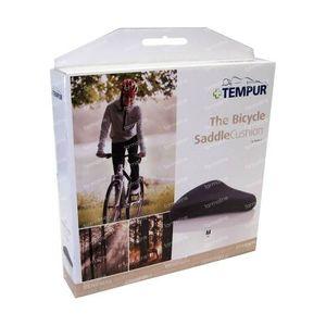 Tempur Fahrradsattel-Kissen 27cm x 25cm Schwarz 1 st