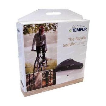 Tempur Siège de Vélo 27cm x 25cm Noir 1 pièce