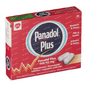 Panadol Plus 20 tabletten