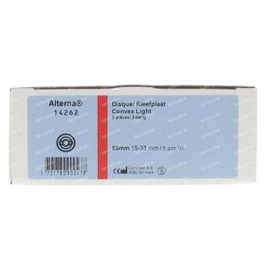 Alterna Convexe Light Plates 50/15mm-32mm 5 pieces