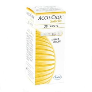 Accu-Chek Softclix Lancet 25 pieces