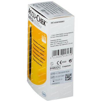 Softclix standard verpakking 1 st