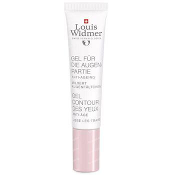 Louis Widmer Gel Contour des Yeux Légèrement Parfumé 15 ml