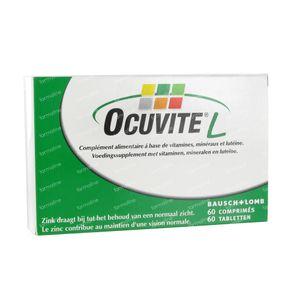 Ocuvite Luteïne Vitamins + Minerals 60 St compresse