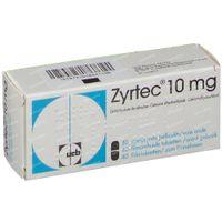 Zyrtec 10mg 40  tabletten