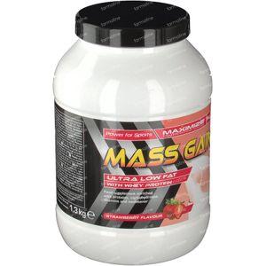 Maximize Mass Gainer Fraise 1,30 kg poudre