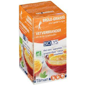 Biolys Groene Thee - Citrusvruchten 20 zakjes