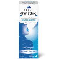 Nasa Rhinathiol 0,1% - Verstopte Neus 10 ml spray