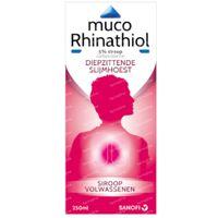 Muco Rhinathiol Volwassenen 5% - Slijmhoest 250 ml siroop