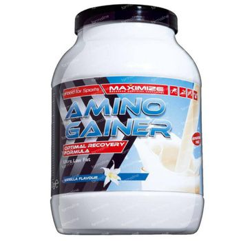 Maximize Amino Gainer Vanille 750 g poeder