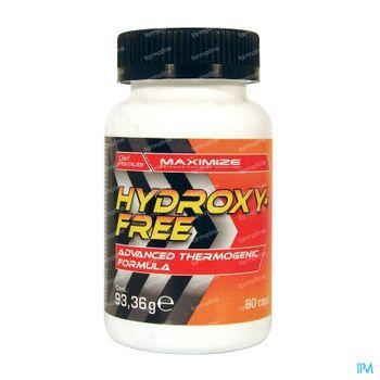 Maximize Hydroxyfree 80 tabletten
