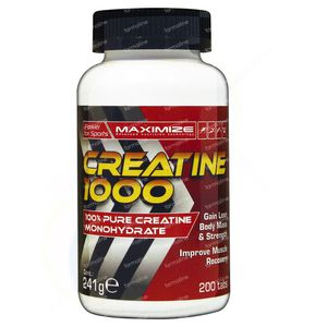 Maximize Creatine 1000mg 200 comprimés