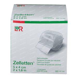 Lohmann & Rauscher Zelletten Celstofdeppers 5x4cm 13349 300 stuks