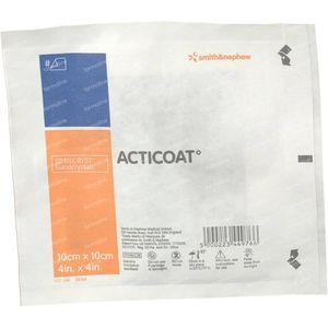 Acticoat Verband Individueel 10cm x 10cm 1 stuk