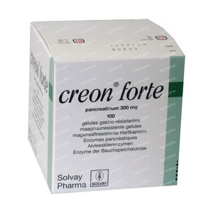 Creon Forte 300mg 100 capsules