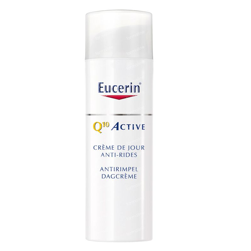 eucerin q10 active cr me de jour spf15 50 ml commander ici en ligne. Black Bedroom Furniture Sets. Home Design Ideas